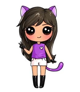 Download Draw So Cute Aphmau Clipart Drawing