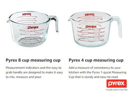 Download pyrex 6001072 prepware clear glass 8-cup mix n