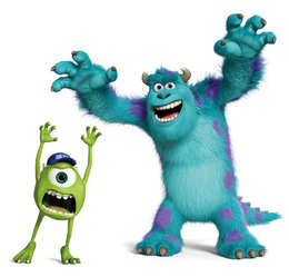 sully from monsters inc clipart about 1 free commercial