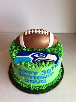 Download Bday Cake Seahawks Clipart Seattle Bakery Birthday