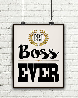 download best boss ever clipart gift christmas day bosss day