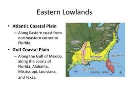 Download gulf coastal plain map clipart East Coast of the United ...