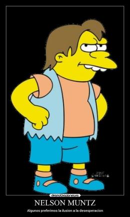download nelson simpsons clipart nelson muntz the simpsons tapped