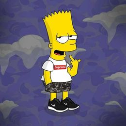 Download Simpson Supreme Clipart Bart Homer Desktop Wallpaper
