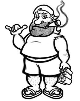 Download hillbilly drawing clipart Redneck Hillbilly Clip art