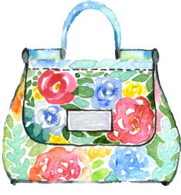 Download Fashion Bag Png Clipart Tote Bag Clip Art