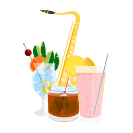 food clipart Cocktail garnish Drinking straw Food