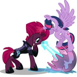 Download Mlp Tempest Fanart Clipart Tempest Shadow Pony Twilight Sparkle