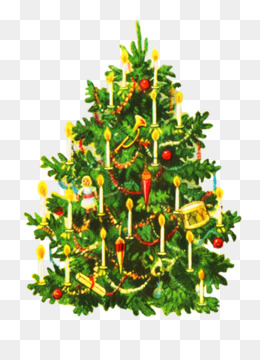 Vintage Christmas Tree Transparent Png Images Cliparts About 6
