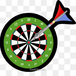 Download Blank Dart Board Clipart Darts Game Set