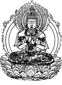 Download Gautama Buddha Temple Buddhism Coloring Book