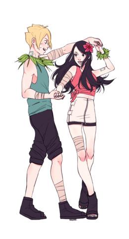 Sasuke And Sakura png download - 1000*2270 - Free
