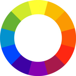 download color wheel clipart color wheel tertiary color
