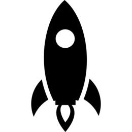 Download rocket launch black and white clipart Rocket launch Clip art